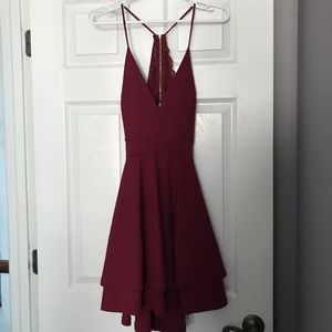 Windsor Burgundy dress